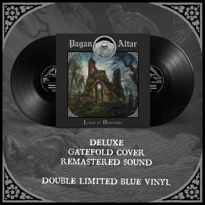 """Image of Pagan Altar """"Lords of Hypocrisy""""_ 2 x 12"""" LP _ Temple of Mistery Records"""