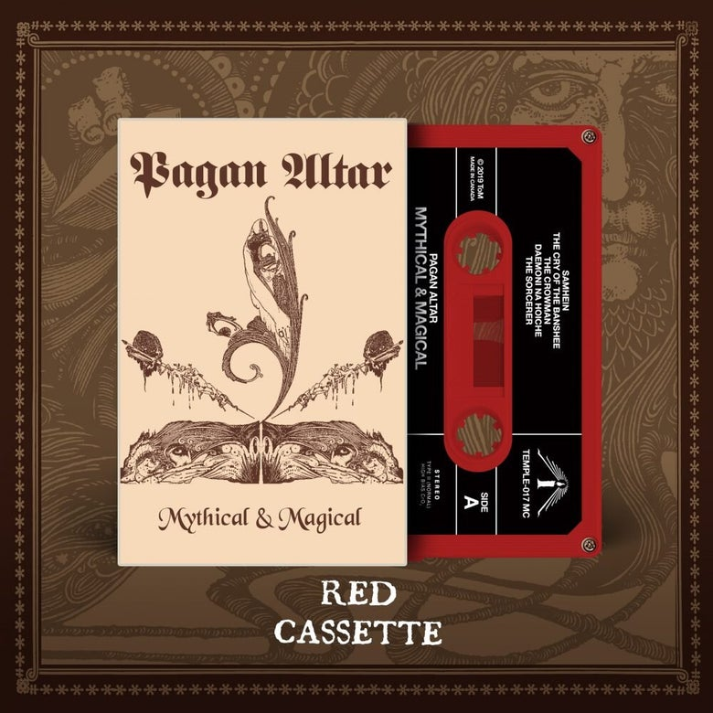 "Image of Pagan Altar ""Mythical & Magical"" _ 7""_ Temple Of Mistery Records"
