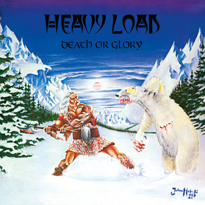 "Image of Heavy Load ""Death or Glory"" _ 12"" LP  + CD _ No Remorse Records"