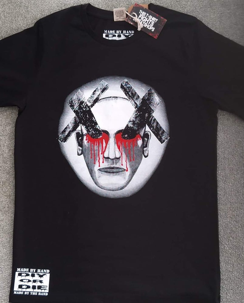 """Image of Exit-stance """"Blinded by fear"""" T'shirt"""