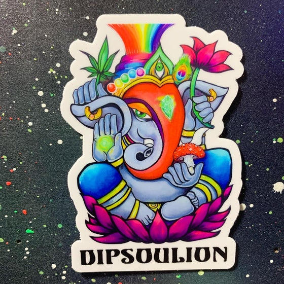 Image of Ganesha Spirit sticker