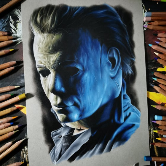Image of PRESALE Michael Myers print A3 (limited)