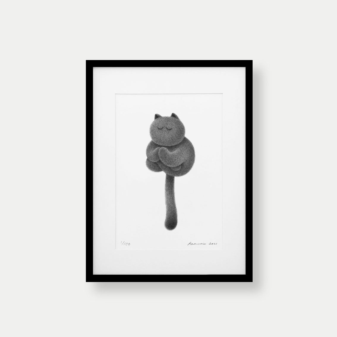 Image of Kitty No.67 – A3 Limited Edition Print