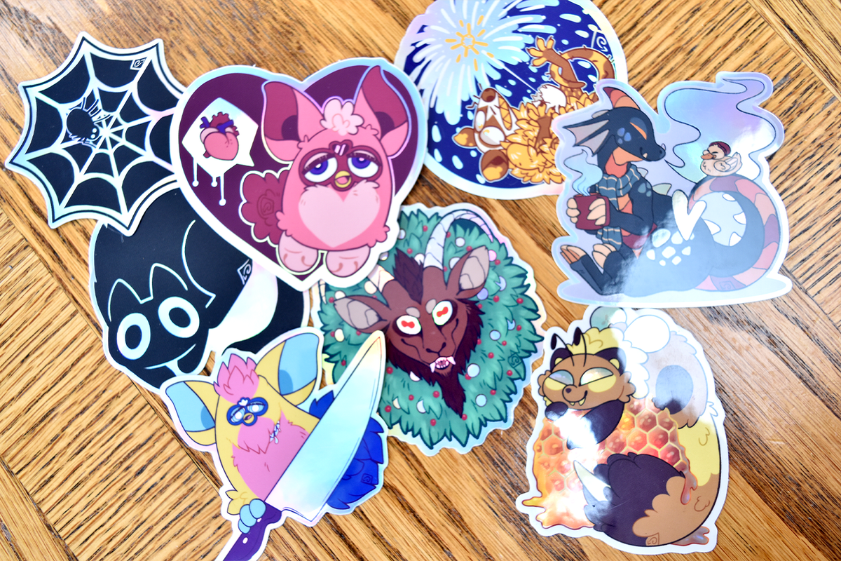 Image of Holo Stickers (Multiple Options)