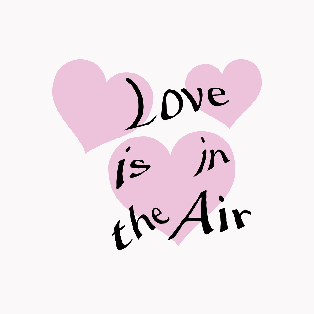 Image of LOVE IS IN THE AIR BABY TEE