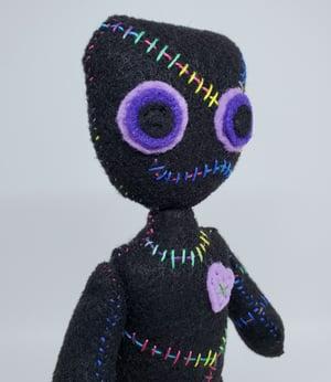 Voodoo doll - Purple eyes