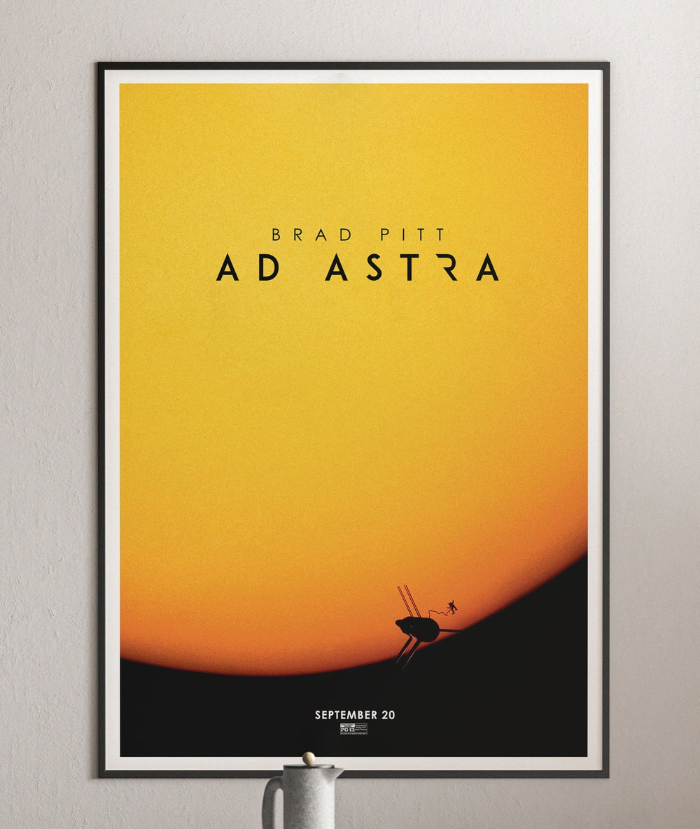 Ad Astra Movie Trailer Poster 2019