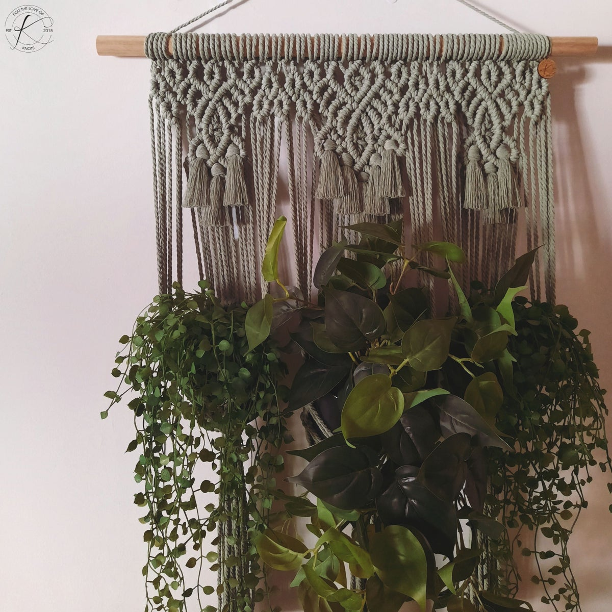 Image of Triple Wall Plant Hanger