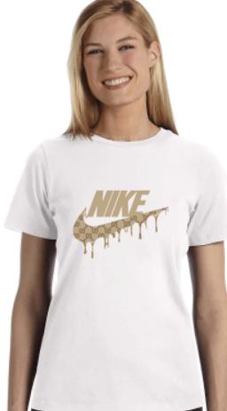 NikexGucci Collab Tee - Ladies