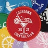 Lockdown 2021 Cocktail Club patch