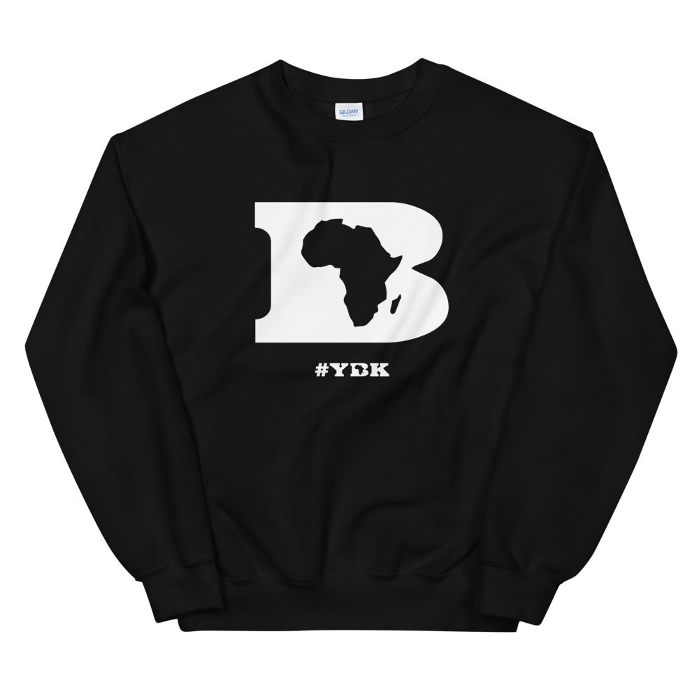 "YBK ""B"" Crewneck Sweater"