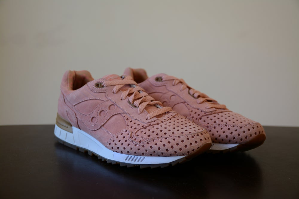 Image of Play Cloths x Saucony Shadow 5000 Cotton Candy Coral