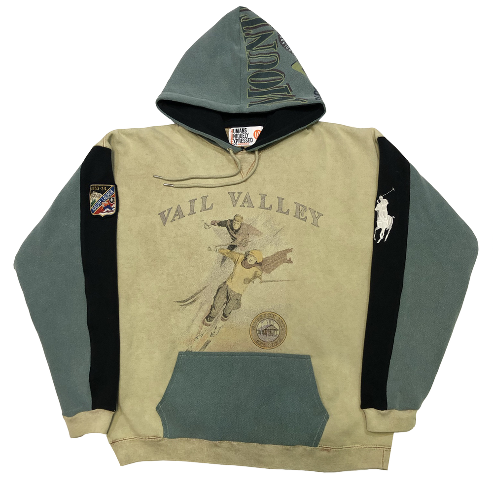 Polo Ski Vail Valley Mash Up Hoodie