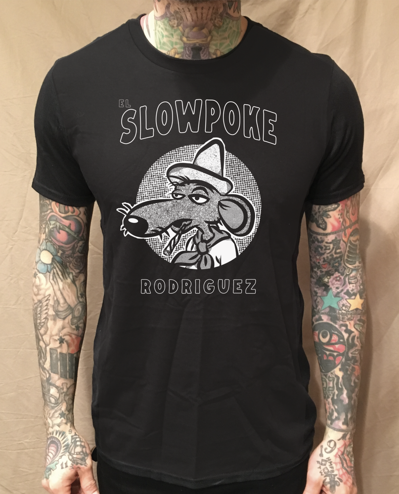 Image of CIRCLE SLOWPOKE BLACK TEE
