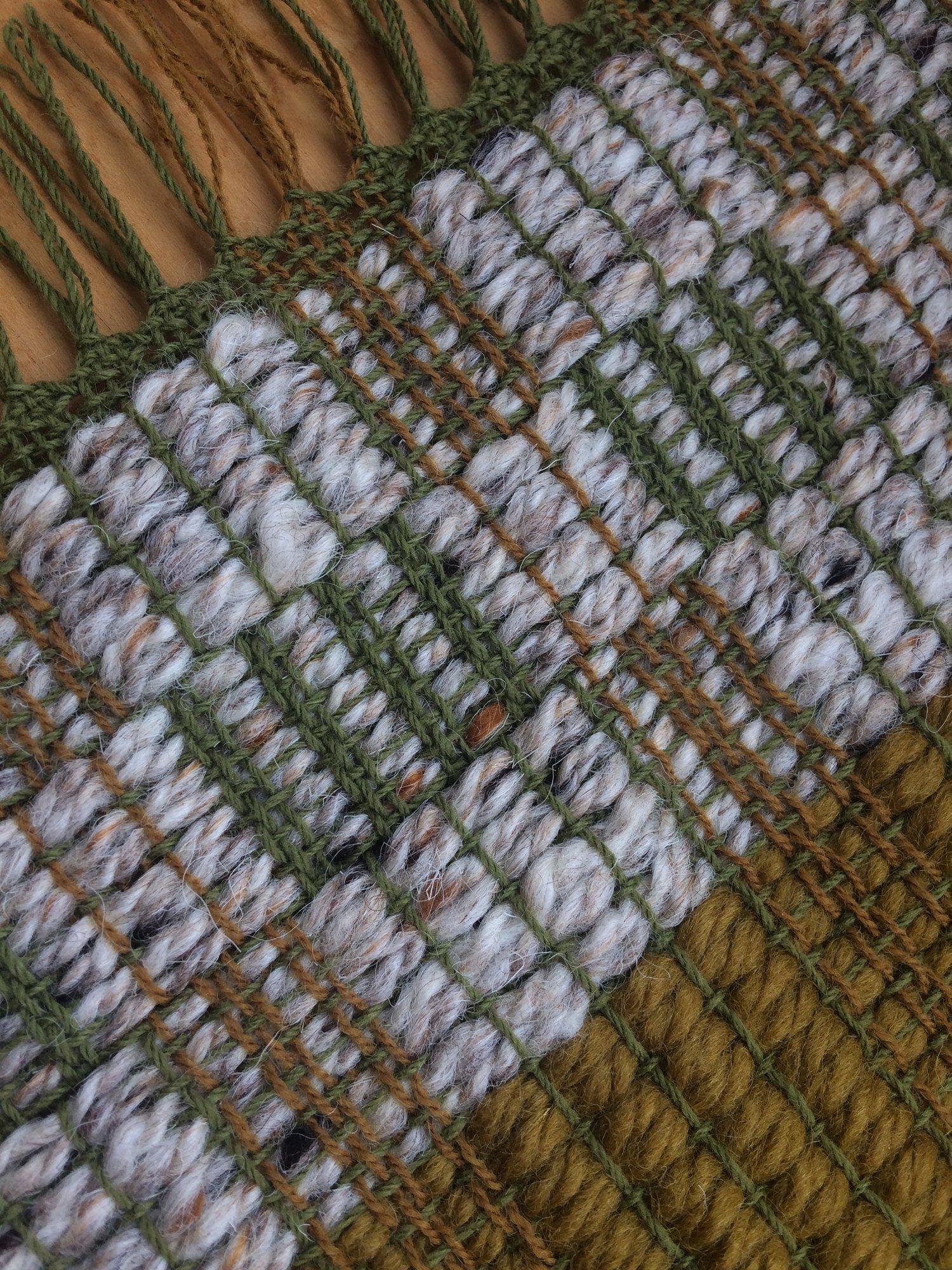 Image of Table Runner • Bordeaux Ochre Tweed