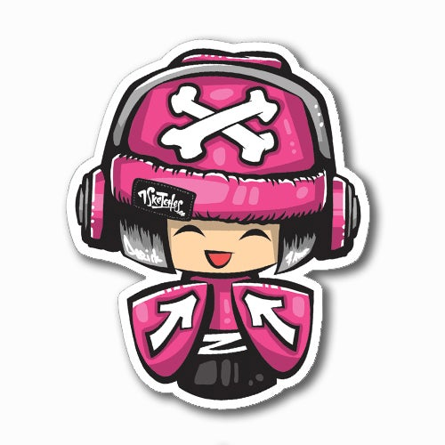 Image of Kokeshi Sticker