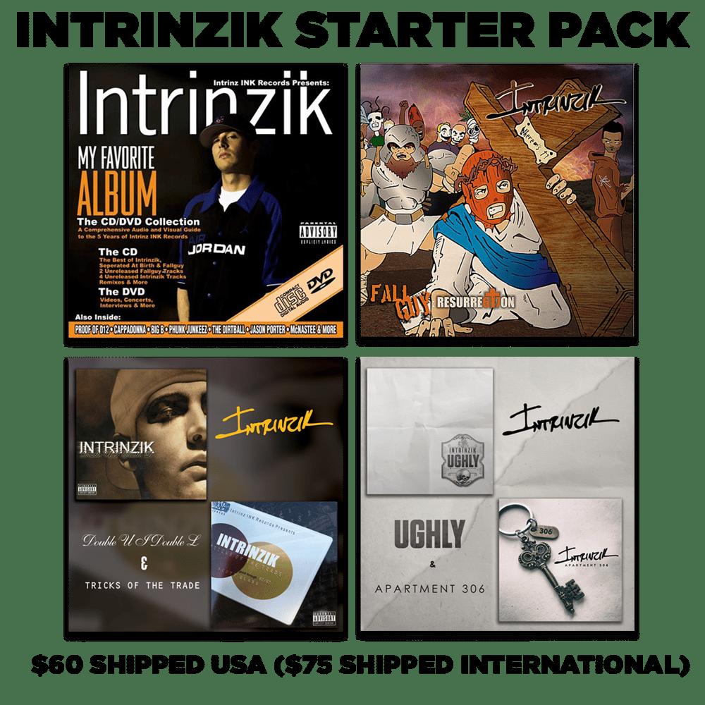 Image of INTRINZIK STARTER PACK 4 LPS, 1 UGH, 2 EPS, 1 DVD