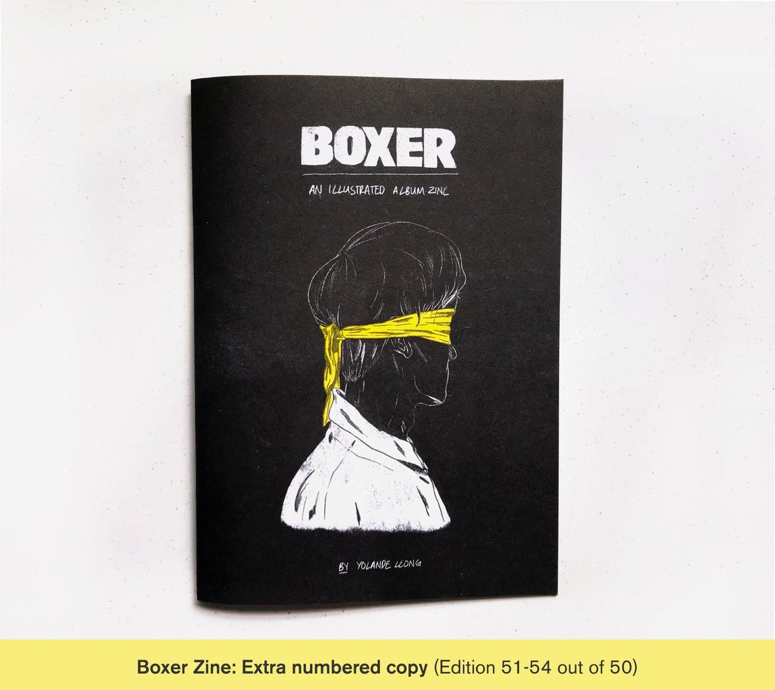 Image of Boxer Zine (Extra numbered copy)