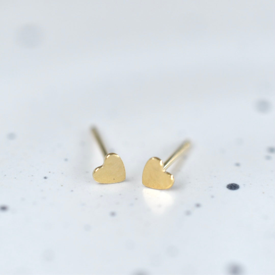Image of Mini Heart Studs