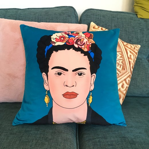 BMV Velvet Frida Cushion