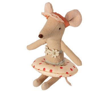 Image of Maileg - Floatie Small Mouse Red Dot (Pre-order)