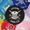 Lockdown 2021 Sewing Club patch