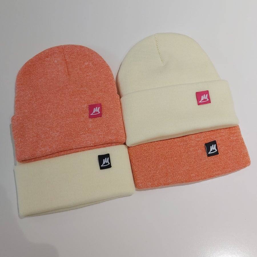 Image of Ski Hats - Oranges / Yellows