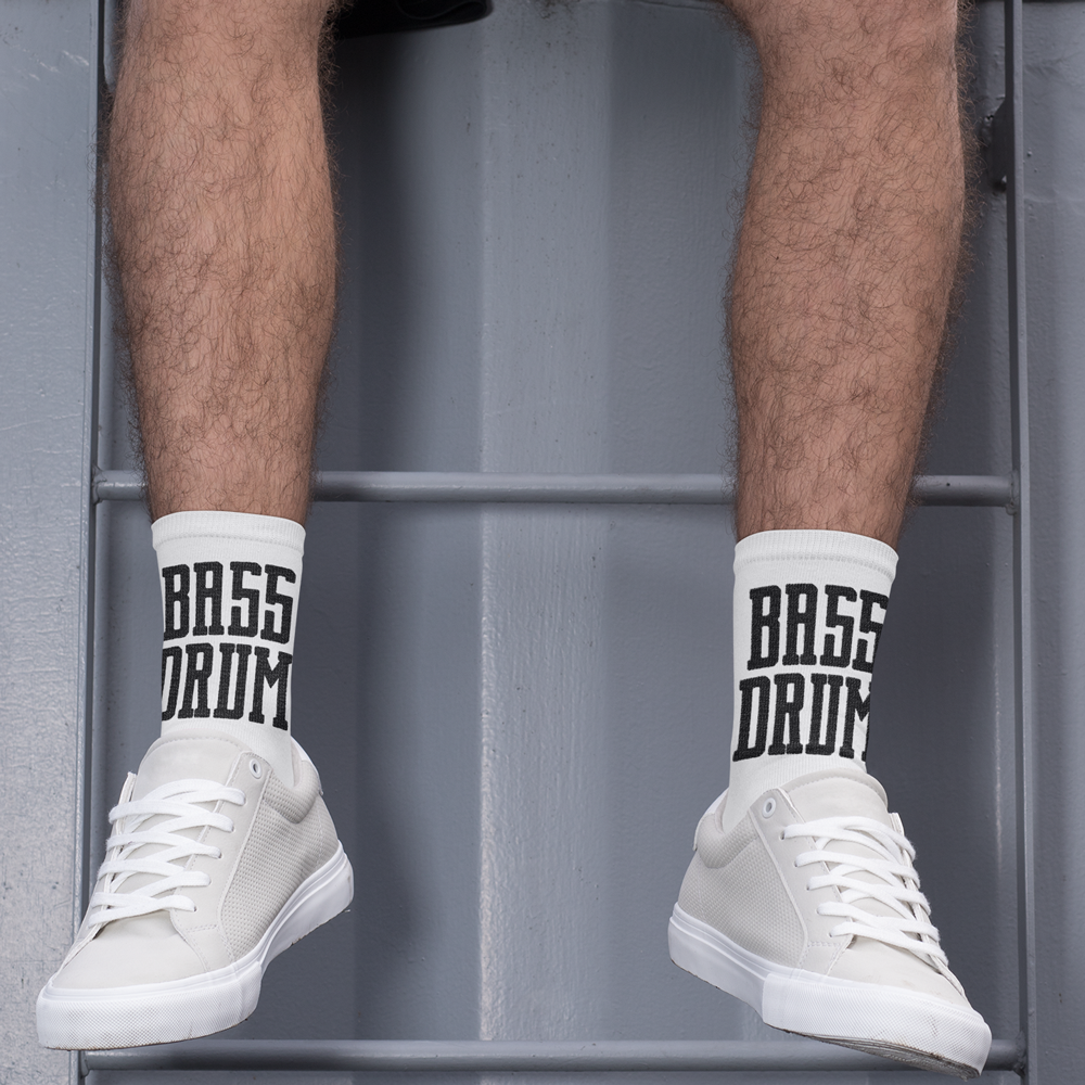 Double Bass Drum Player Socks