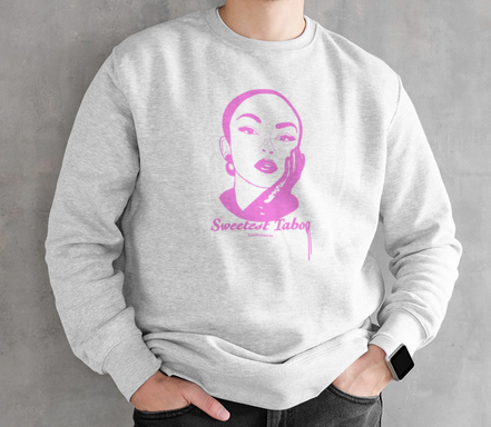 Image of Sweetest Taboo  Pink Print - UNISEX