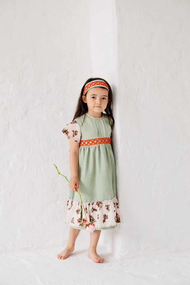 Image of dress FLORENCE green