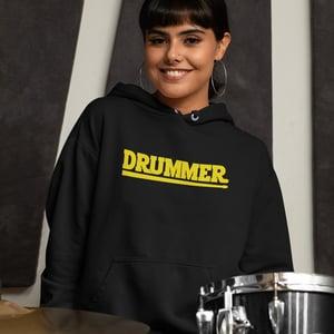 Drummer Hoodie Organic Unisex