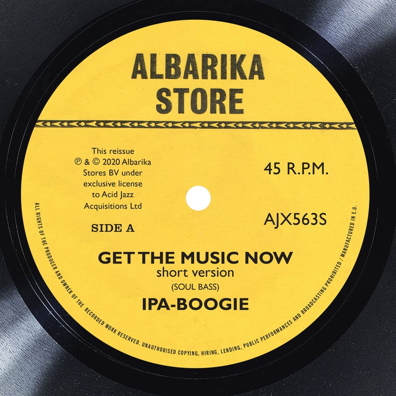 "Image of Ipa-Boogie - Get The Music Now / Africa 7"" (Pre-Order)"