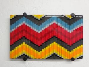 Bargello Wall Art Panel - BHG - 099