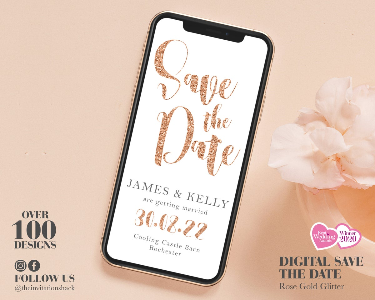 Phone Save the Dates