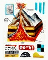 GEOLOGICAL ANTEEFUH PRINT A4 / A5