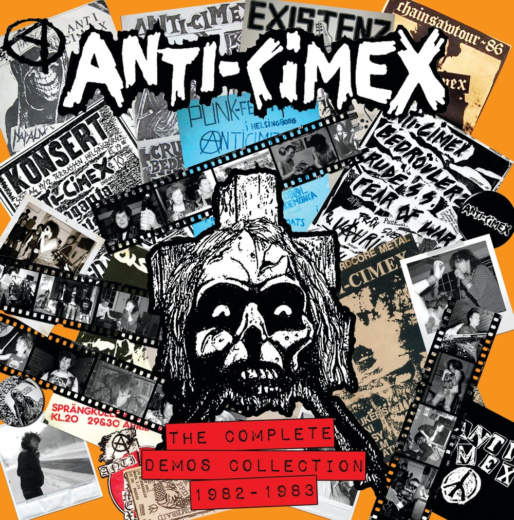 "ANTI-CIMEX ""The Complete Demos 82-83"" LP"