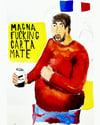 MAGNA FUCKING CARTA MATE PRINT