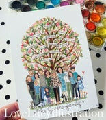 Image of Family Tree Painting