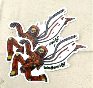 Image of Astro Death Stickers