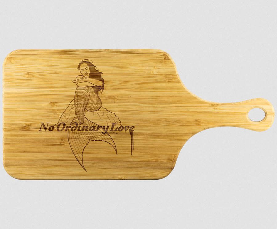 Image of No Ordinary Love Cutting Board!