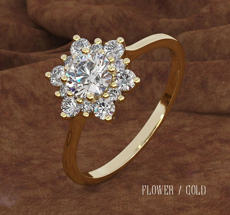 Image of Perfect Antique Style Gem Rings