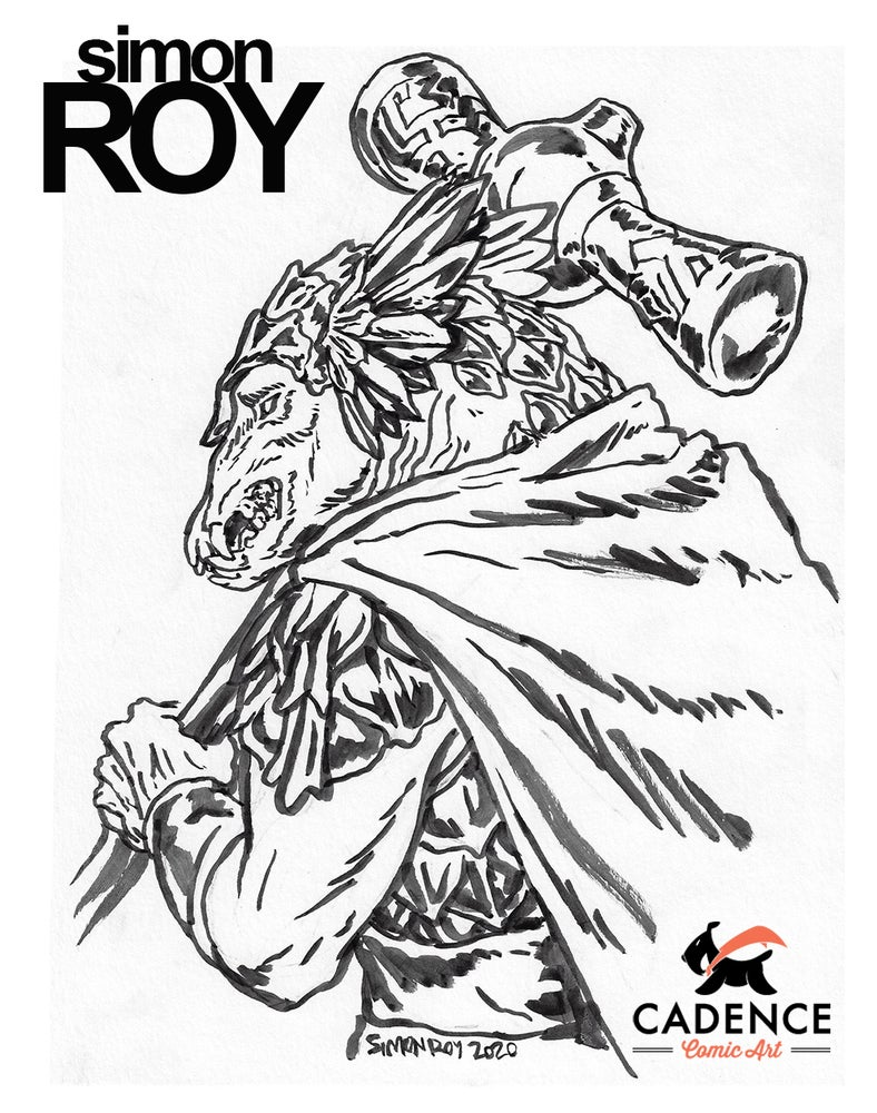 Image of Simon Roy Commission (Mail Order)