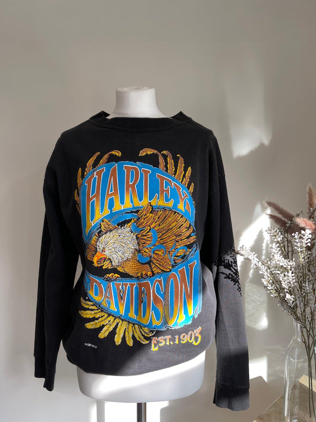 Vintage Harley Davidson Jumper