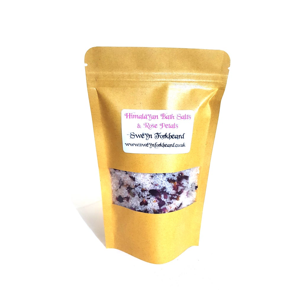 Image of Himalayan Bath Salts & Rose Petals