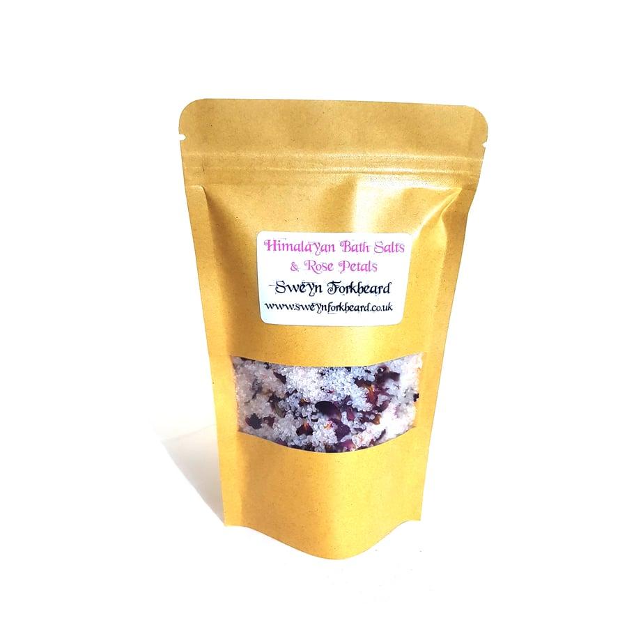 Image of Himalayan Bath Salts & Rose Petals