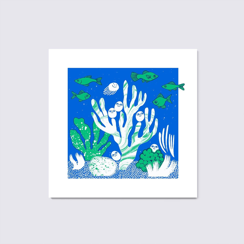 LITTLE OCEAN GLOW (Green)