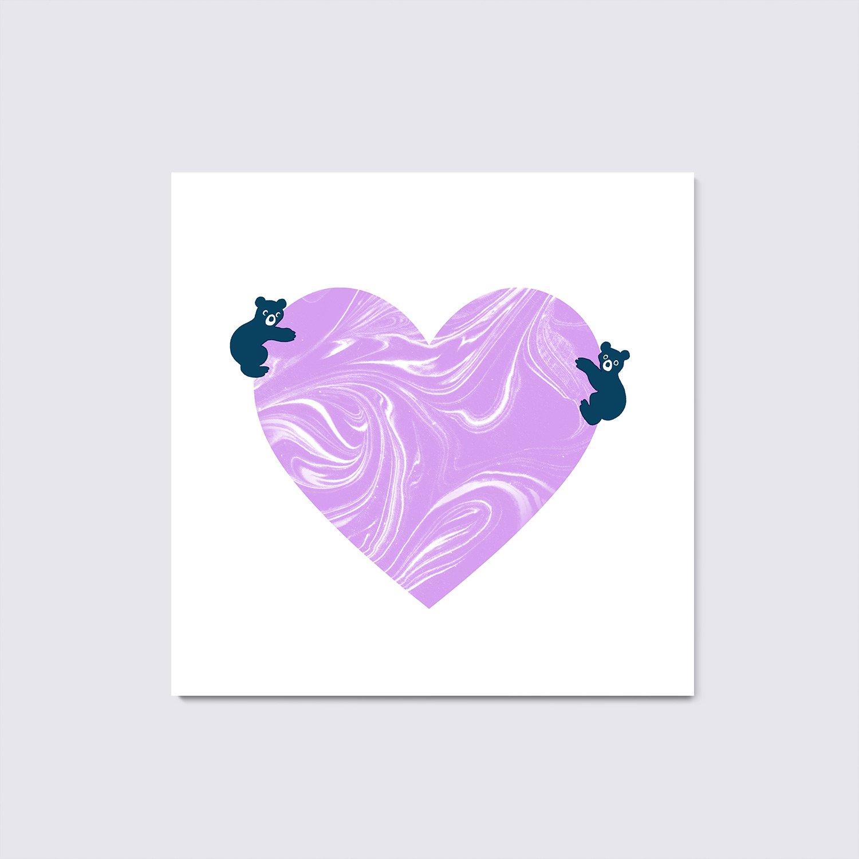 LOVE BEARS (Lilac)