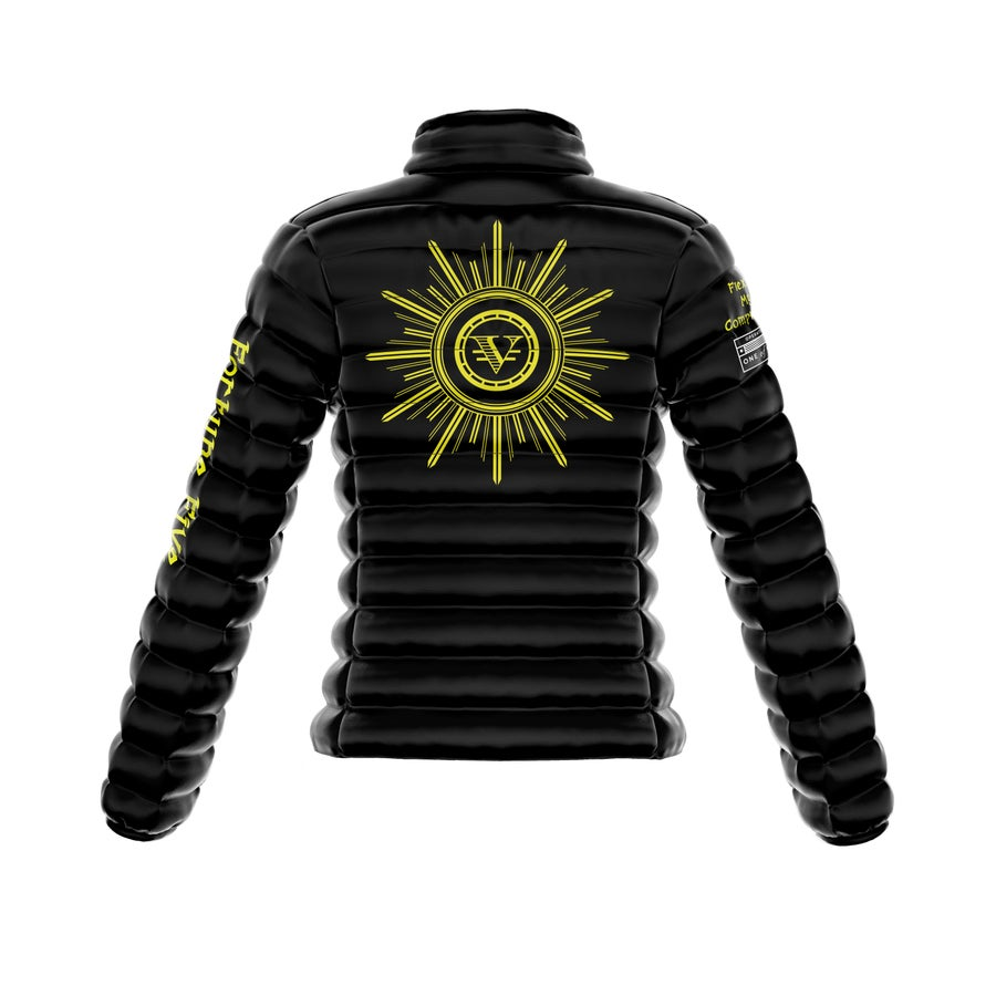 "Image of ""Golden Melanin"" 1OF1 Puff Jacket"