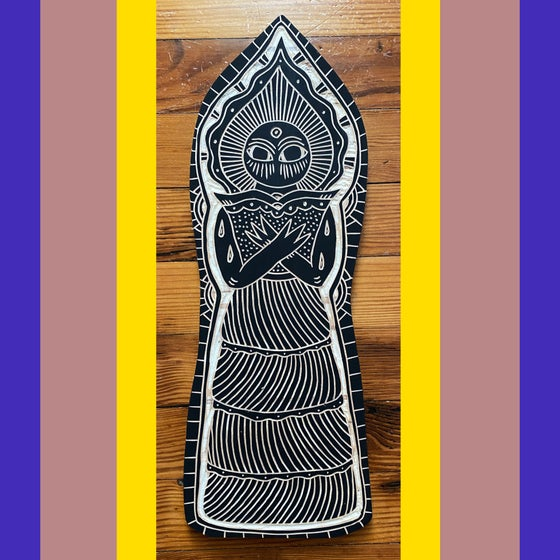 Image of Fancy Flatwoods Monster (#16)