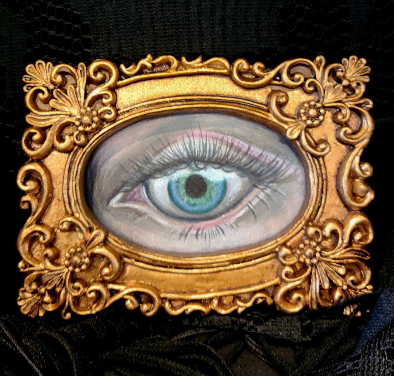 Image of Human Eye Study OOAK